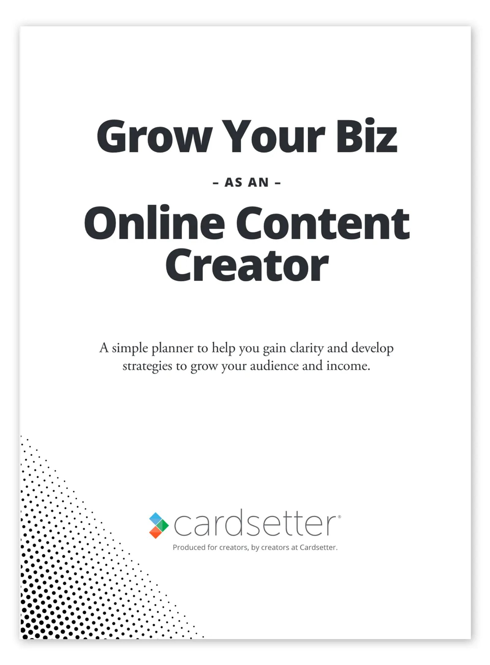 Grow Your Business as an Online Content Creator